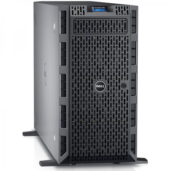 Server DELL PowerEdge T630, Procesor Intel® Xeon® E5-2620 v4 2.1GHz Broadwell, 16GB RDIMM , 600GB SAS 10k, LFF 3.5 inch, PERC H730 1GB, 3Yr NBD 0