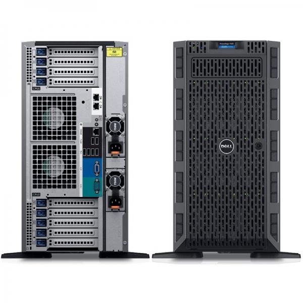 Server DELL PowerEdge T630, Procesor Intel® Xeon® E5-2620 v4 2.1GHz Broadwell, 16GB RDIMM , 600GB SAS 10k, LFF 3.5 inch, PERC H730 1GB, 3Yr NBD 1