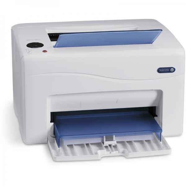 Imprimanta laser color Xerox Phaser 6020, Dimensiune: A4, Viteza: 10 ppm mono si 12 ppm color, Rezolutie: 1200x2400 dpi, Procesor: 525 MHz, Memorie: 128 MB, Alimentare cu hartie standard: tava multifu 0