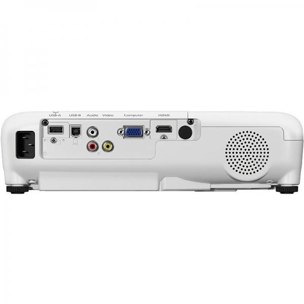 "Videoproiector Epson EB-S05 ""V11H838040"" White 3"