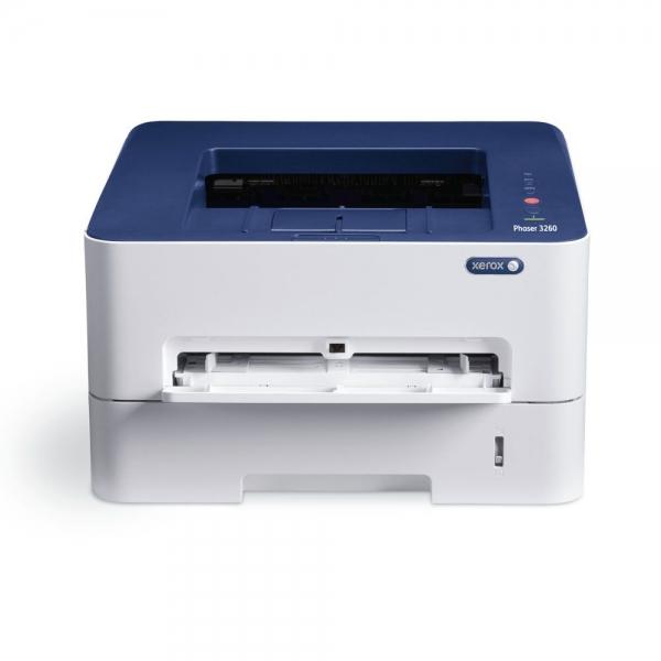 Imprimanta laser mono Xerox Phaser 3260, Viteza 28 ppm, Rezolutie 600x600, Procesor 600 MHz, Memorie 256 MB, Limbaje de printare Emulari PCL 5e si 6, emulare PostScript 3, Alimentare cu hartie 250 col 2