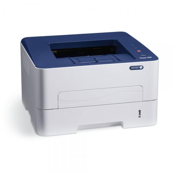 Imprimanta laser mono Xerox Phaser 3260, Viteza 28 ppm, Rezolutie 600x600, Procesor 600 MHz, Memorie 256 MB, Limbaje de printare Emulari PCL 5e si 6, emulare PostScript 3, Alimentare cu hartie 250 col 3