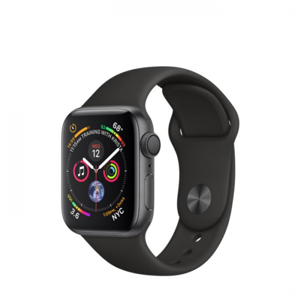 Apple Watch Series 4  - 40mm, Aluminum Case Sport Band, Space grey 0
