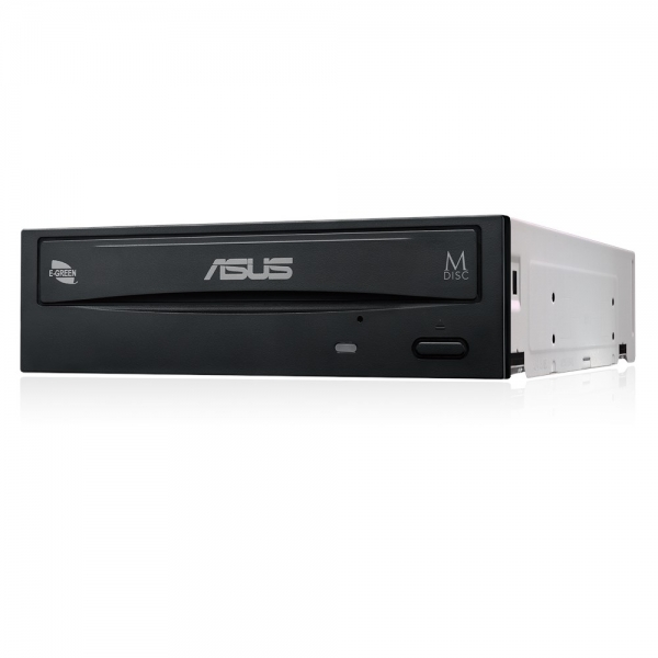 "ASUS DVDRW, DRW-24D5MT/BLK/B/AS, Extreme 24X DVD writing speed with M- Disc support, SATA, bulk, Black ""DRW-24D5MTBLKBAS"" 0"