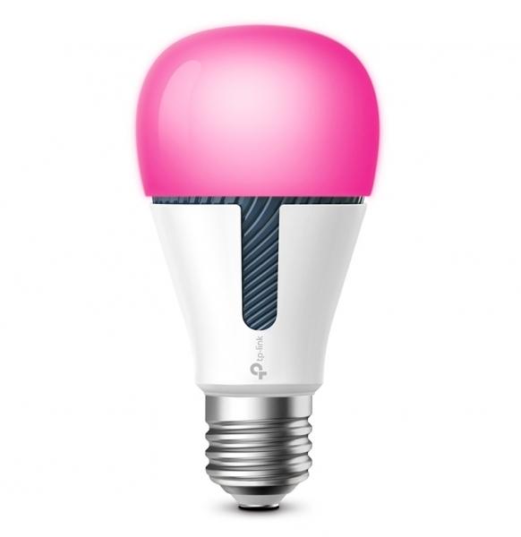 BEC LED wireless TP-LINK, 800lm, 10W, E27, se conecteaza la router Wi-Fi, intensitate reglabila, control prin smartph.cu apl.Kasa, ajustare automata a luminii in fct. de momentul zilei, lumineaza in d 1