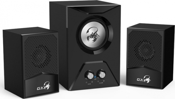 """BOXE 2.1 GENIUS """"SW-G2.1 500"""", RMS: 3.5Wx2 + 8Wx1, black """"31730003401"""" (include timbru verde 1 lei) 0"""