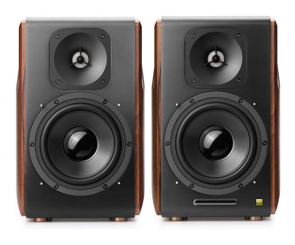 "BOXE EDIFIER 2.0, RMS: 256W (2 x 8W, 1 x 120W, 1 x 120W), bluetooth telecomanda wireless, volum, bass, treble, optical, coaxial, brown, USB, ""S3000PRO""(include timbru verde 4 leu) 1"