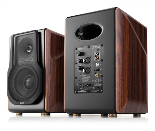"BOXE EDIFIER 2.0, RMS: 256W (2 x 8W, 1 x 120W, 1 x 120W), bluetooth telecomanda wireless, volum, bass, treble, optical, coaxial, brown, USB, ""S3000PRO""(include timbru verde 4 leu) 2"