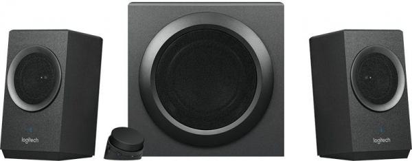 "BOXE Logitech 2.1 ""Z337"" Bold Sound Bluetooth RMS power: 40 W (24W + 2 x 8W), Black ""980-001261""    (include timbru verde 1 leu) 0"