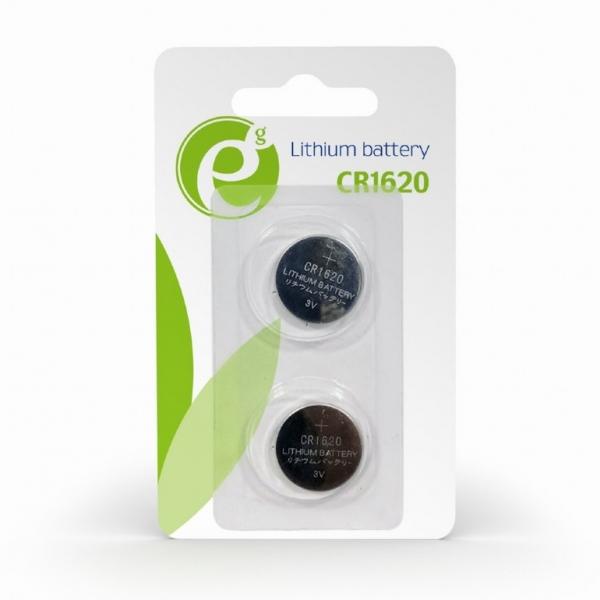 "Button cell CR1620, 2-pack ""EG-BA-CR1620-01"" 0"