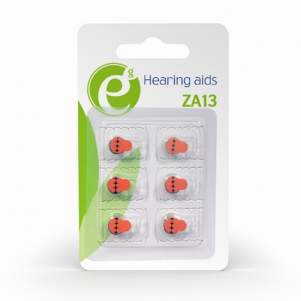 "Button cell ZA13, 6-pack ""EG-BA-ZA13-01"" 1"