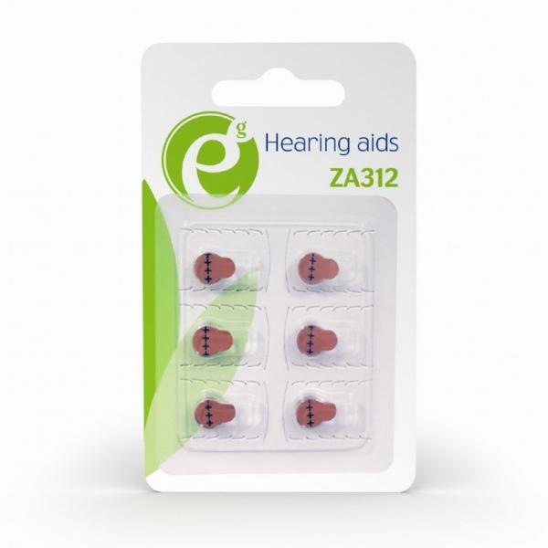 """Button cell ZA312, 6-pack """"EG-BA-ZA312-01"""" 1"""