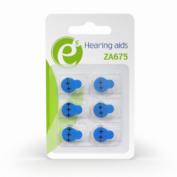 """Button cell ZA675, 6-pack """"EG-BA-ZA675-01"""" 1"""