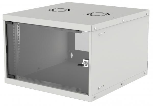 """CABINET 19"""" INTELLINET  6U Basic, fixare pe perete, Flatpack,  Gray, fara capac spate, 353 (h) x 540 (w) x 400 (d) mm """"714150"""" 0"""