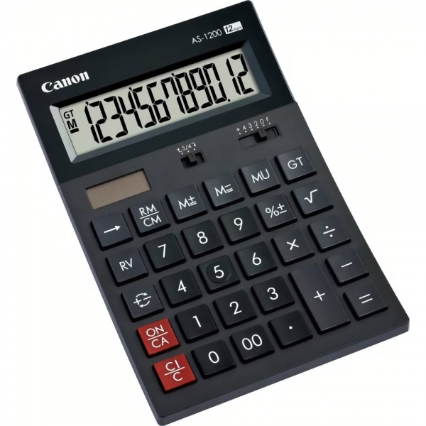 Calculator de birou CANON  AS-1200 BE4599B001AA CANON   (include timbru verde 0.01 Lei) 0