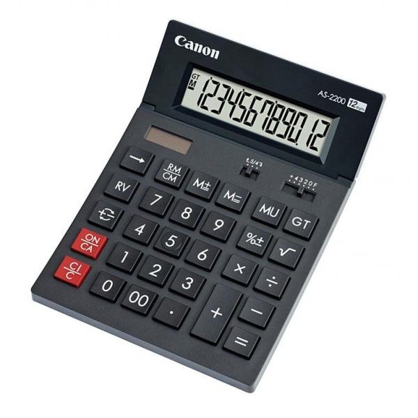 Calculator de birou CANON  AS-2200 BE4584B001AA CANON   (include timbru verde 0.01 Lei) 0