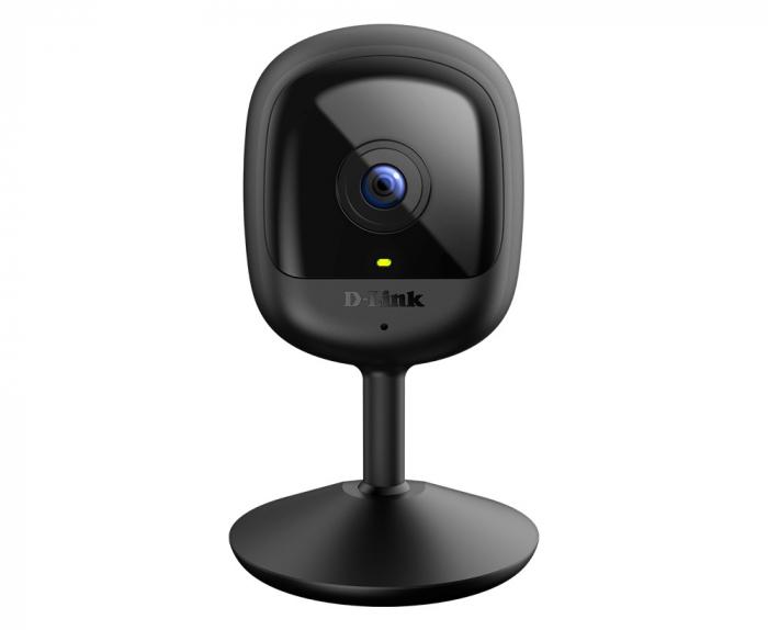 "CAMERA IP D-Link, cube, pt. interior, dist. IR 5 m, tip lentila fixa 2.4 mm, wide angle 110 grade, 2 Mpx, wi-fi, microfon da, PoE nu, carcasa plastic, slot SD card nu, ""DCS-6100LH"" (include timbru ver 0"