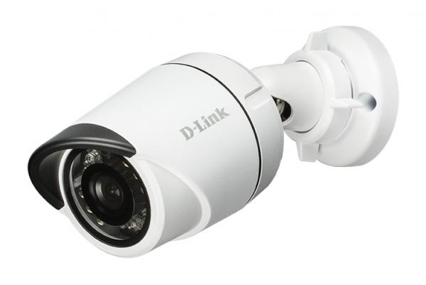 "CAMERA IP D-LINK wired de  exterior, senzor 5Mp CMOS, rez. video 2592x1944 pana la 15fps, Night & Day, slot microSD, detectie miscare, seria Vigilance, boxa, PoE Mini Bullet, ""DCS-4705EV"" 0"