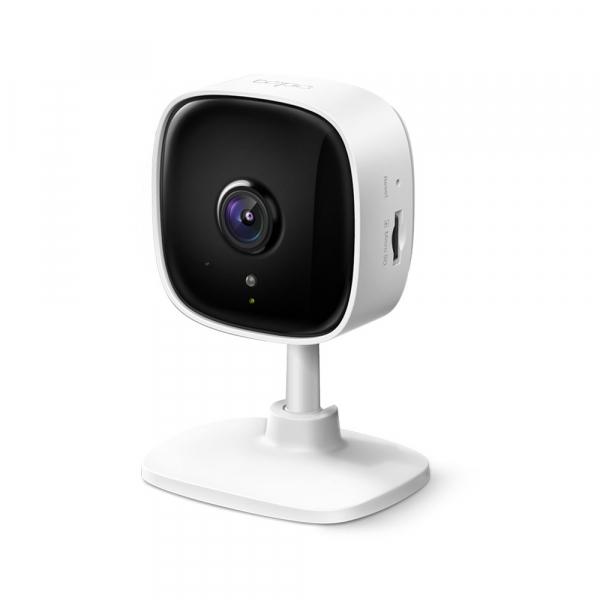 "Camera IP. wireless 1080p HD, zi/noapte, 2-way audio,alarma vizuala si sonora, senzor miscare, TP-LINK ""Tapo C100"" (include timbru verde 1 leu) 0"