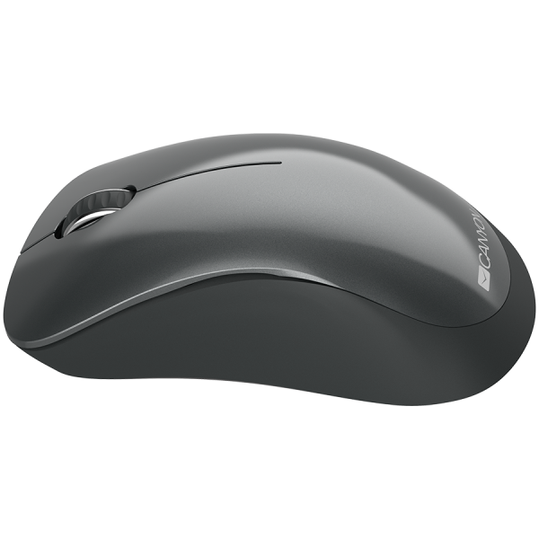 Canyon  2.4 GHz  Wireless mouse ,with 3 buttons, DPI 1200, Battery:AAA*2pcs,Black,67*109*38mm,0.063kg 1