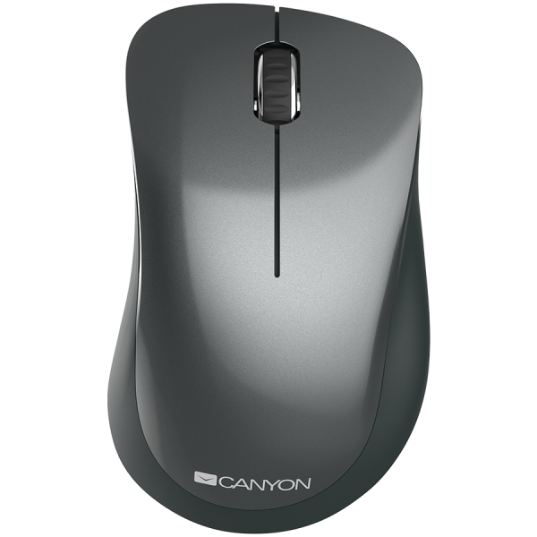 Canyon  2.4 GHz  Wireless mouse ,with 3 buttons, DPI 1200, Battery:AAA*2pcs,Black,67*109*38mm,0.063kg 0
