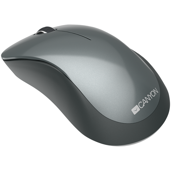 Canyon  2.4 GHz  Wireless mouse ,with 3 buttons, DPI 1200, Battery:AAA*2pcs,Black,67*109*38mm,0.063kg 2