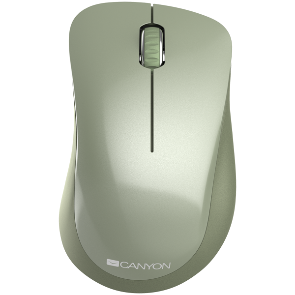 Canyon  2.4 GHz  Wireless mouse ,with 3 buttons, DPI 1200, Battery:AAA*2pcs  ,special military67*109*38mm 0.063kg 0