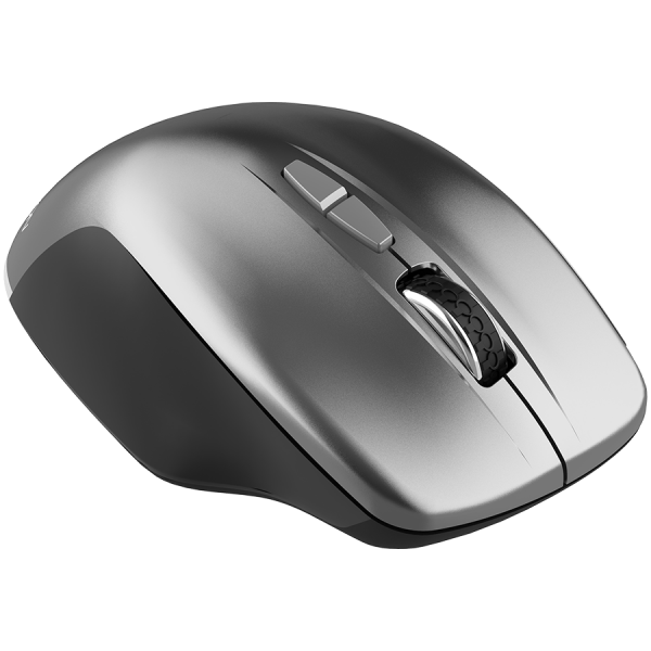 Canyon  2.4 GHz  Wireless mouse ,with 7 buttons, DPI 800/1200/1600, Battery:AAA*2pcs  ,Dark gray72*117*41mm 0.075kg 2