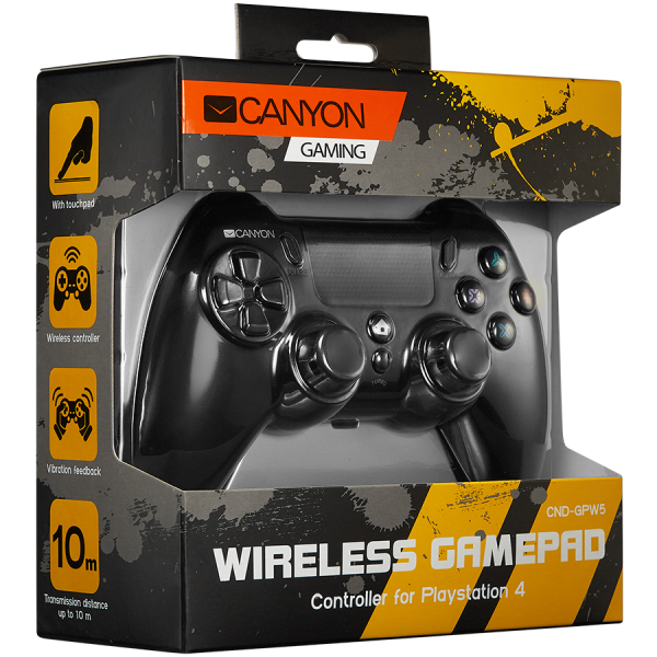 CANYON Wireless Gamepad With Touchpad For PS4 3