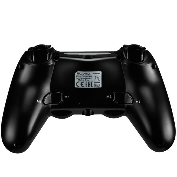 CANYON Wireless Gamepad With Touchpad For PS4 1