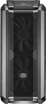 "CARCASA COOLER MASTER Middle-Tower E-ATX, MasterCase. H500P MESH, tempered glass, 2* 200mm RGB fan (incluse), I/O panel, gun metal ""MCM-H500P-MGNN-S10"" 2"
