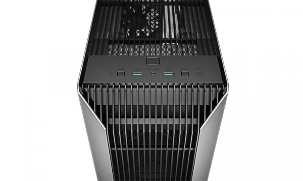 """CARCASA DeepCool Middle-Tower ATX, 1* 120mm fan (inclus), tempered glass, panouri laterale magnetice, VGA card holder, fan HUB, front audio & 2x USB 3.0 & 1x USB 3.1 Type-C, black """"CL500"""" 7"""