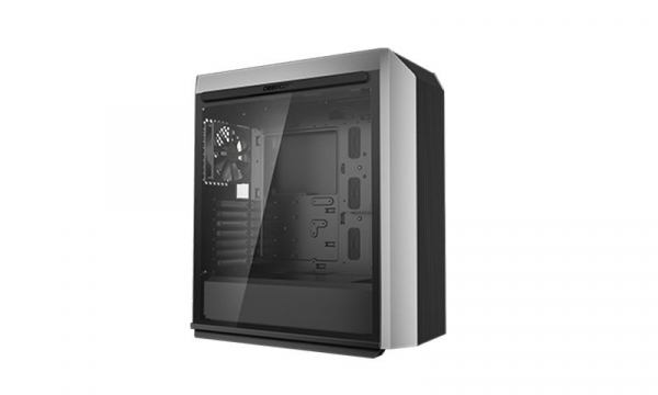 """CARCASA DeepCool Middle-Tower ATX, 1* 120mm fan (inclus), tempered glass, panouri laterale magnetice, VGA card holder, fan HUB, front audio & 2x USB 3.0 & 1x USB 3.1 Type-C, black """"CL500"""" 1"""