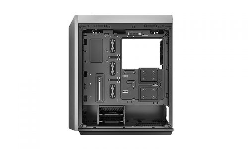 """CARCASA DeepCool Middle-Tower ATX, 1* 120mm fan (inclus), tempered glass, panouri laterale magnetice, VGA card holder, fan HUB, front audio & 2x USB 3.0 & 1x USB 3.1 Type-C, black """"CL500"""" 4"""