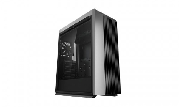 """CARCASA DeepCool Middle-Tower ATX, 1* 120mm fan (inclus), tempered glass, panouri laterale magnetice, VGA card holder, fan HUB, front audio & 2x USB 3.0 & 1x USB 3.1 Type-C, black """"CL500"""" 0"""