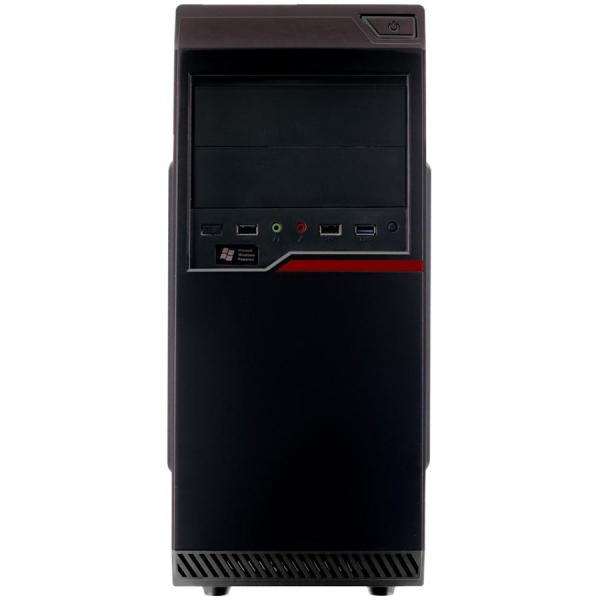 """Carcasa Riotoro CR100BE B2B neagra, SPCC Steel ATX Mini Tower, fara sursa (tip ATX, montata sus), interior vopsit negru, 2x 5.25"""" (extern), 2x 3.5"""" (intern), 2x 2.5"""" (intern), fata - 1x 80/120mm fans  0"""