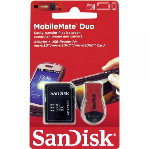 "Card Reader SANDISK, Slots: microSD, microSDHC, microSDXC, 2.0 ""SDDRK-121-B35"" 0"