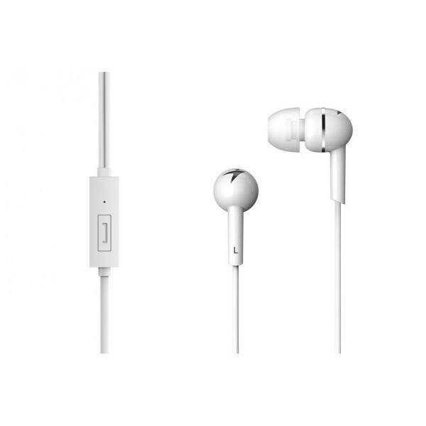 "CASTI GENIUS  smartphone (intraauriculare) cu microfon, ""HS-M300"", in-ear, white ""31710006401"" (include timbru verde 0.1 lei) 0"