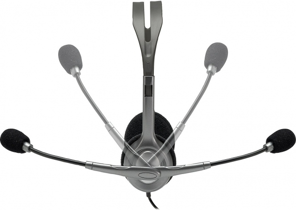 """Casti Logitech  """"H111"""" Stereo Headset with Microphone """"981-000593""""  (include timbru verde 0.01 lei) [1]"""