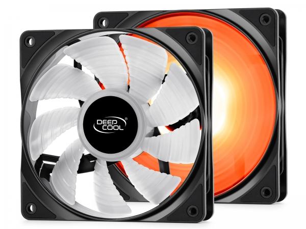 """COOLER DeepCool CPU universal, soc. LGA20xx/1366/115x/775 & FMx/AMx, Al+Cu, 6x heatpipe, 2x RGB SYNC fans 120x25mm, 200W """"NEPTWIN RGB"""" 6"""