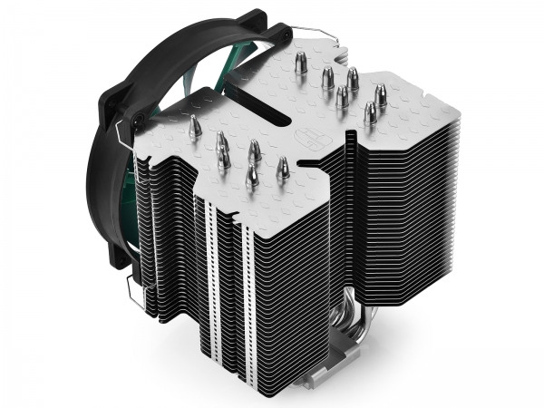 "COOLER DeepCool CPU universal, soc. LGA20xx/1366/115x/775 & FMx/AMx, Al+Cu, 6x heatpipe, fan 140x26mm, 130W ""LUCIFER V2"" 1"