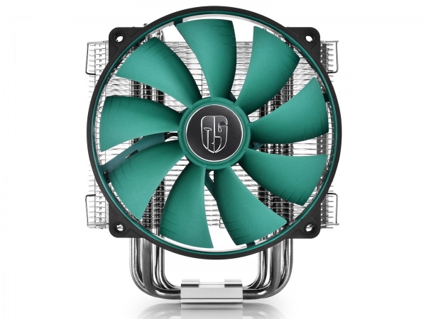 "COOLER DeepCool CPU universal, soc. LGA20xx/1366/115x/775 & FMx/AMx, Al+Cu, 6x heatpipe, fan 140x26mm, 130W ""LUCIFER V2"" 4"