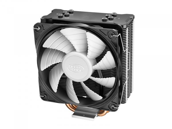"""COOLER DeepCool CPU universal, soc LGA20xx/1366/115x & AM4/AMx/FMx, Al+Cu, 4x heatpipe, 150W, ADD-RGB LED """"GAMMAXX GT A-RGB"""" 1"""