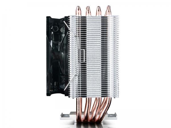 """COOLER DeepCool CPU universal, soc LGA20xx/1366/115x & AMx/FMx, Al+Cu, 4x heatpipe, 130W """"GAMMAXX C40"""" 2"""