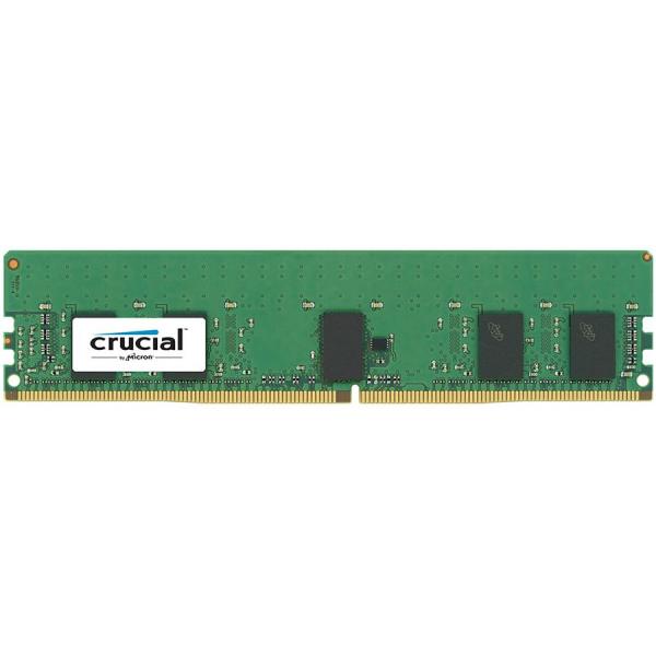 Crucial 8GB DDR4 2666MT/s (PC4-21300) CL19 SR x8 ECC Registered DIMM 288pin 0