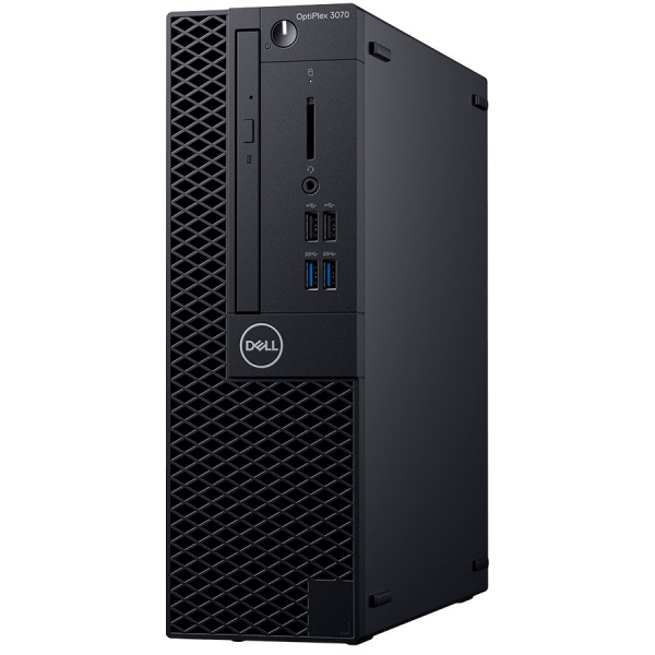 Dell Optiplex 3070 SFF, Intel Core i5-9500 ,8GB(1X8GB) DDR4 2666MHz,256GB(M.2)NVMe SSD ,DVD+/-RW, Intel Graphics, Dell Mouse - MS116, Keyboard KB216, Ubuntu, 3Yr NBD 0