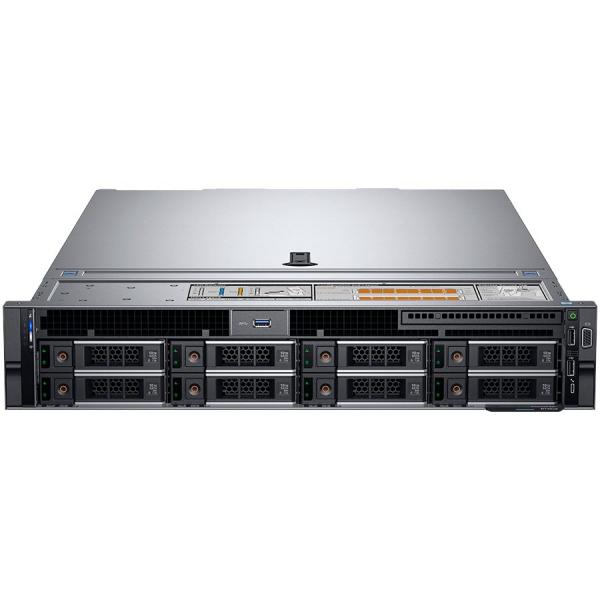 "Dell PowerEdge R740 Rack Server,Intel Xeon Silver 4208 2.1G(8C/16T),16GB RDIMM, 3200MT/s,600GB 10K RPM SAS(up to 8 x 3.5""SAS/SATA),PERC H730P,iDRAC9 Enterprise,Broadcom 5720 Quad Port 1GbE,Single Hot  0"