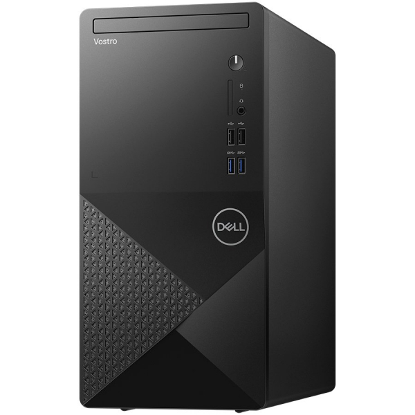 "Dell Vostro 3888 MT,Intel Core i5-10400(12MB,up to 4.3 GHz),8GB(1x8)2666MHz DDR4,1TB(HDD)3.5""7200RPM HDD,DVD+/-,Integrated Graphics,Wi-Fi 802.11ac(1x1)+ Bth,Dell Mouse - MS116,Dell Keyboard - KB216,Ub 0"