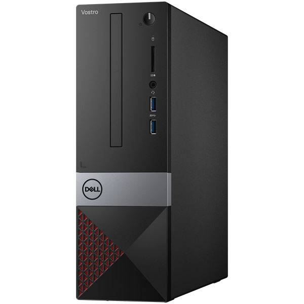Dell Vostro DT 3471,Intel Core i5-9400(9MB Cache, up to 4.1 GHz),8GB(1x8GB)2666MHz UDIMM DDR4,256GB(M.2)SDD,DVD+/-,Integrated Graphics,Wifi 1707 Card (802.11BGN + Bluetooth 4.0, 2.4 GHz)Dell Mouse - M 0