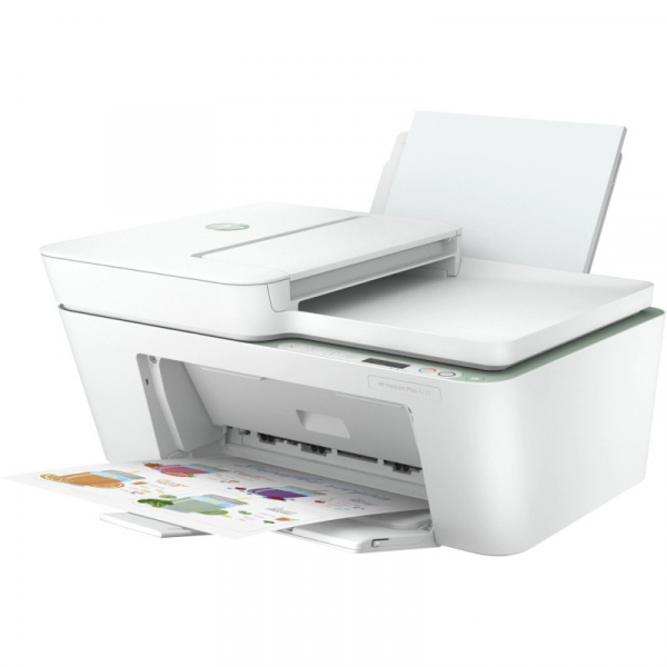 Multifunctionala HP DeskJet Plus 4122, InkJet, Color, Format A4, Wi-Fi 0